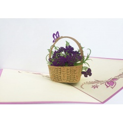 Thanking Orchid Basket